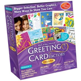 Greeting Card Factory Deluxe Version 5 box