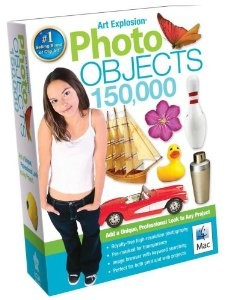 Art Explosion Photo Objects 150,000 Mac