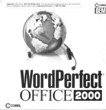 Word Perfect Office 2000 OEM box