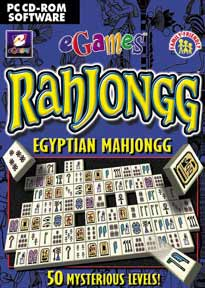 Mahjongg Egyptian Edition - eGame box