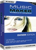 Music Maker Dance Edition  box