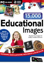 15,000 Educational Images box