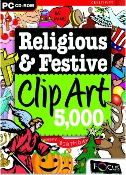 Focus 5,000 Religious and Festive ClipArt