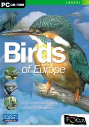 Birds of Europe box