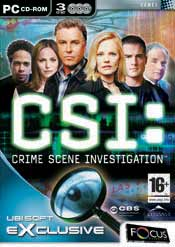 CSI Crime Scene Investigation box