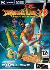 Dragon's Lair 3D box