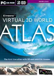 Eingana Virtual 3D World Atlas box