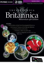 Encyclopedia Britannica Millenium 4th Edition box