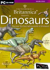 Encyclopedia Britannica Presents Dinosaurs box