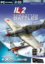 IL 2 Sturmovik Forgotten Battles box