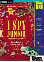 I SPY Junior: Puppet Playhouse box