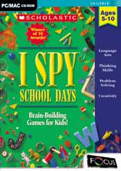 I SPY School Days box