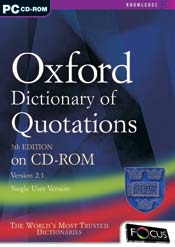 Oxford Dictionary of Quotations 5th Edition box