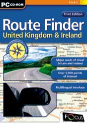 Route Finder United Kingdom & Ireland - Third Edition