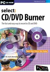Select:CD/DVD Burner box