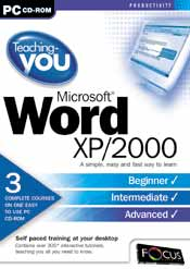 Teaching-you Microsoft Word XP/2000