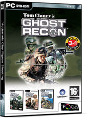 Tom Clancy's Ghost Recon Gold Edition DVD ROM box