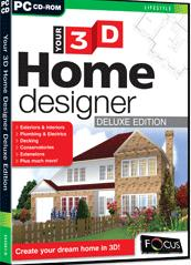 Your 3D Home Designer Deluxe Edition box