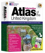 Interactive Atlas of the United Kingdom Boxed  box