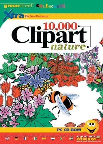 10,000 Clipart Nature box