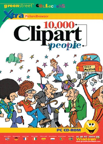 10,000 Clipart People
