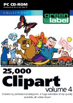 25,000 Clip Art Volume 4 box
