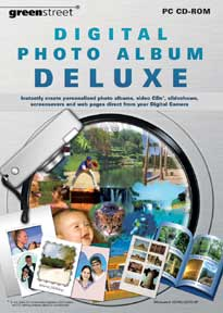 Digital Photo Album Deluxe box