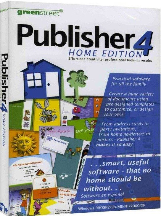 Publisher 4 Home