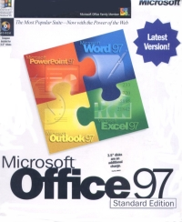 Office 97 Standard Fully Boxed box