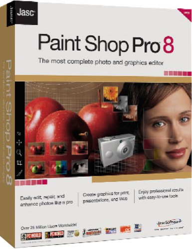 Paint Shop Pro 8 box