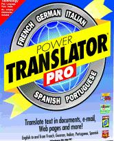 Globalink Power Translator Pro 6.43 box