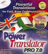 L&H Power Translator Pro 7 box