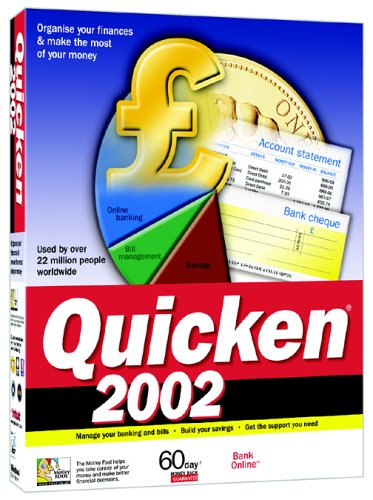 Quicken 2002 box