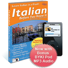 Italian Before You Know It Deluxe 3.6 box