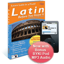 Latin Before You Know It Deluxe 3.6 box