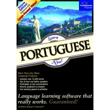 Learn Portuguese Now 8 box