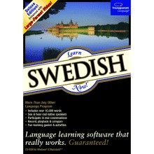Learn Swedish Now 8 box